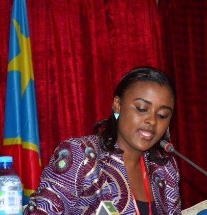 Francine Muyumba réélue à la tête de l'UPJ