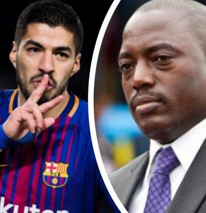 En quoi Joseph Kabila serait égal à Luis Suarez ?