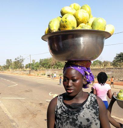 Belle Africaine à Ferkessédougou